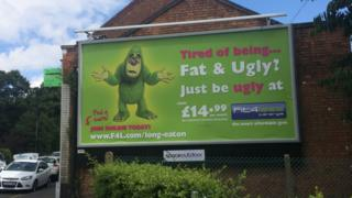 Fit4Less gym advert
