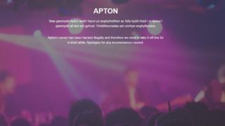 APTON web site
