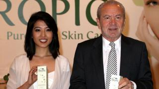 Susan Ma and Alan Sugar