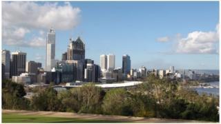 澳大利亚西部城市珀斯