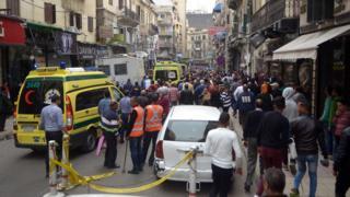 вибухи у церквах у Єгипті