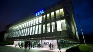 Ibiro bikuru vya FIFA i Zurich muri Swisse