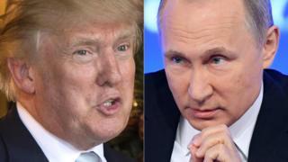 Donald Trump və Vladimir Putin
