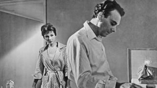"""Кадр из фильма """"Девять дней одного года"""", 1961 год"""