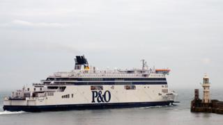 P&O ferry Spirit of France
