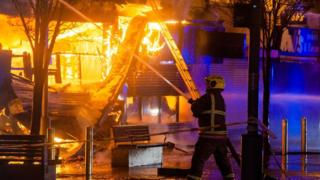 Sunderland shop fire