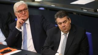 Франк-Вальтер Штайнмайер (слева) и Зигмар Габриэль