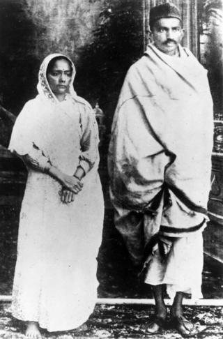 कस्तूरबा गांधी, महात्मा गांधी