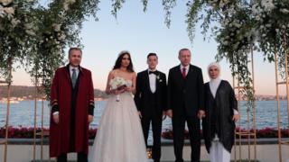 Shugaban Turkiya ne babban abokin ango
