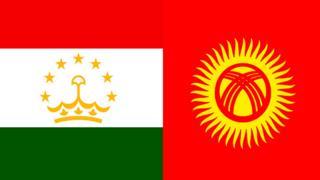 پرچم تاجیکستان و قرقیزستان