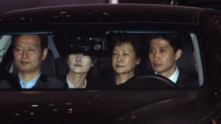 Cựu Tổng thống Nam Hàn Park Geun-hye