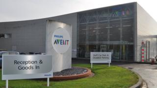 Philips Avent factory, Glemsford, Suffolk