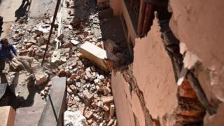 earthquake prone area