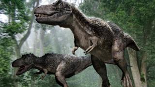 Tyrannosaurus rex, dinosaurus