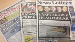 Johnston Press owns the News Letter, the Londonderry Sentinel, the Ballymoney Times and a number of other Northern Ireland publications