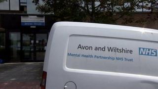 Avon and Wiltshire Mental Health Partnership van