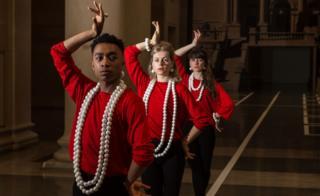 Dancers at Tate Britain