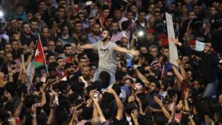 الاحتجاجات في الأردن