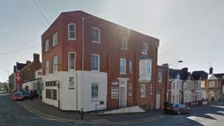 Ceredigion council offices at Morgan Street, Cardigan