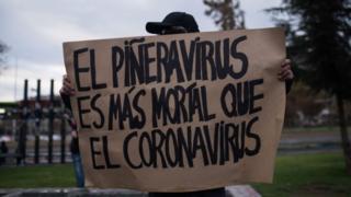 """Quienes continúan protestando aseguran que las demandas """"siguen vigentes"""" ante la inequidad en los salarios y en el acceso a la salud y educación."""