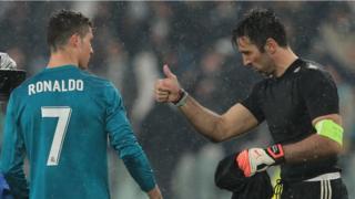 Ronaldo àti Buffon