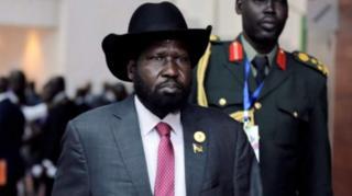 Pirezidantii Sudaan Kibbaa, Salvaa Kiir
