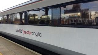 An Abellio Greater Anglia train