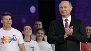 Ông Putin đã cầm quyền từ năm 2000