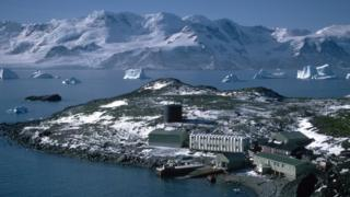 British Antarctic Survey base
