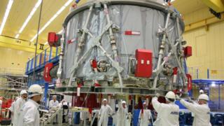 Orion capsule: Europe delivers astronaut spaceship's first 'powerhouse'