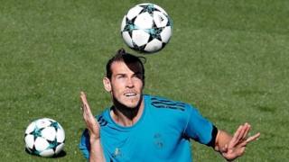 Gareth Bale na Real Madrid da Wales