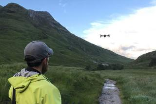 Lochaber MRT's drone
