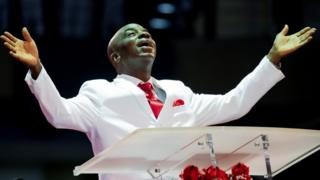 David Oyedepo of Living Faith Church Worldwide