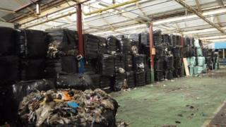 Waste bales