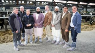 Buyers from Saudi, Dubai and Pakistan on a recent visit to Northern Ireland
