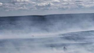 Roaches fire on moorland