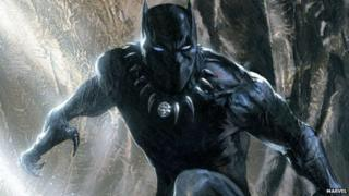 Marvel superhero Black Panther