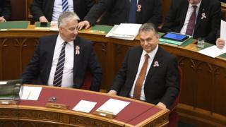 Віктор Орбан і Жолт Шем'єн
