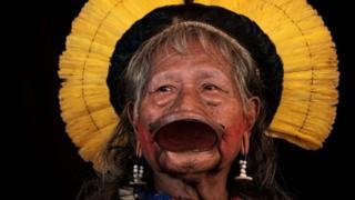 Indígena Caiapó