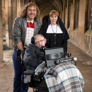 Stephen Hawking's cameos: 'I have been quite popular in my time'