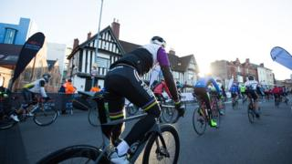 Vélo Birmingham & Midlands start line