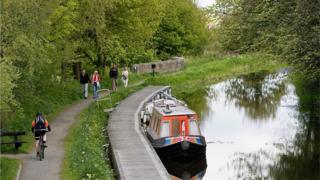 Union Canal at Linlithgow