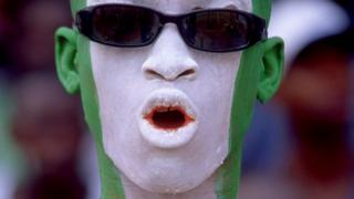Nigeria football fan