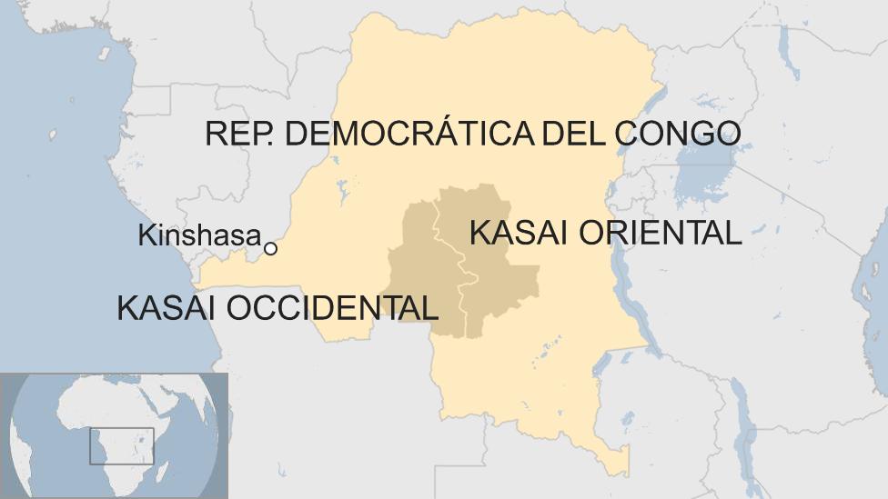 Mapa RDC