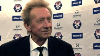 Scottish Hall of Fame member Denis Law