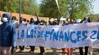Afrique,Niger,Niamey,manifestation,politique,finances,loi