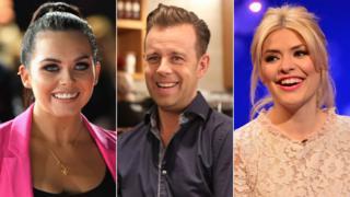 Scarlett Moffatt, Pat Sharp and Holly Willoughby