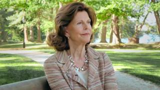 Queen Silvia in an SVT documentary about Drottningholm Palace
