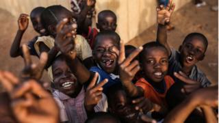 Des enfants au Mali