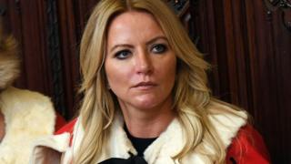 Lady Mone in the House of Lords before the State Opening Of Parliament last year